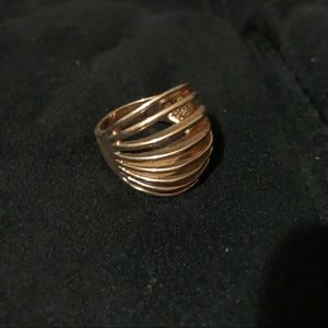Modern Style Copper Ring